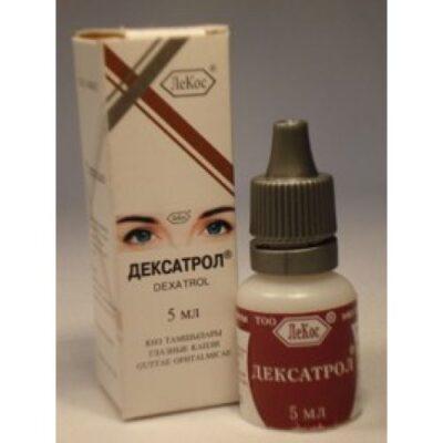 Deksatrol 5 ml of eye drops