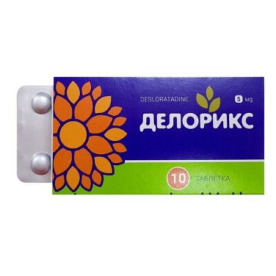 Deloriks 5 mg (10 tablets)