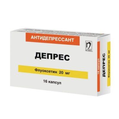 Depression 20 mg capsules 16's