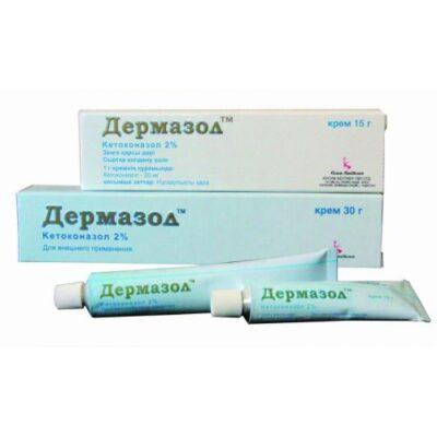 Dermazol 15g of 2% cream