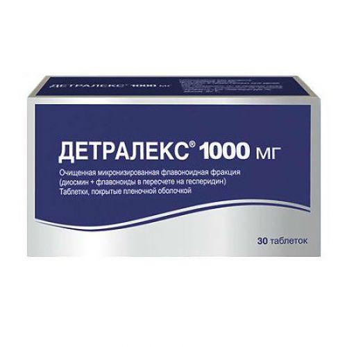 Detraleks 30s 1000 mg film-coated tablets