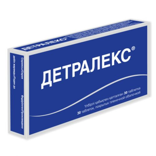Detraleks 30s 500 mg film-coated tablets