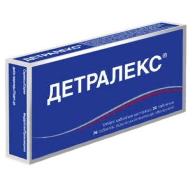 Detraleks 36's 500 mg film-coated tablets