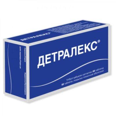 Detraleks 60s 500 mg film-coated tablets