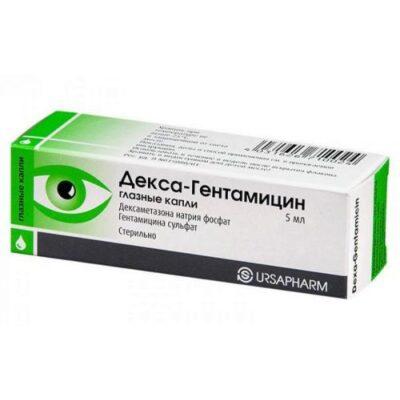 Dex-Gentamicin 5 ml eye drop.
