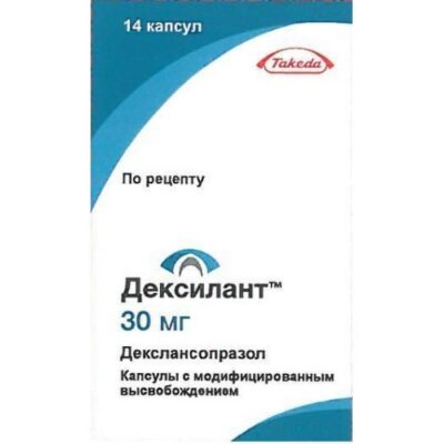 Dexilant 14s 30 mg modified-release capsules