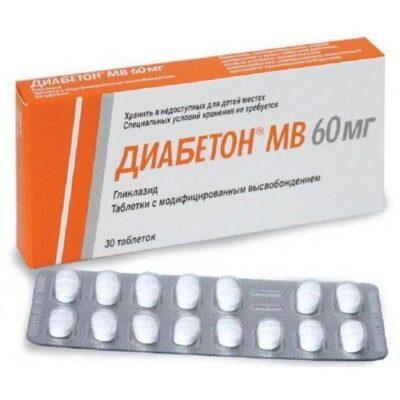 Diabeton® MR (Gliclazide) 60 mg (30 tablets)