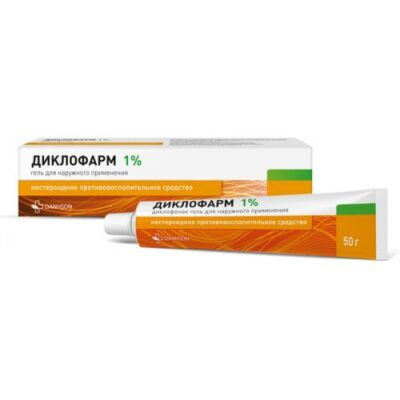 Diklopharm 1% 50g gel for topical application