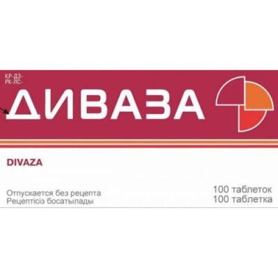 Divaza 100s dispersing tablets oral