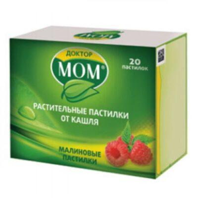 Doctor MOM tasteful raspberry lozenges 20s