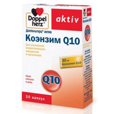 Doppelgerts Active Coenzyme Q10 (30 capsules)