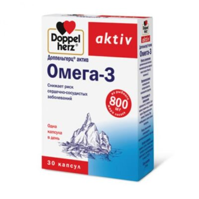 Doppelgerts Active Omega-3 (30 capsules)