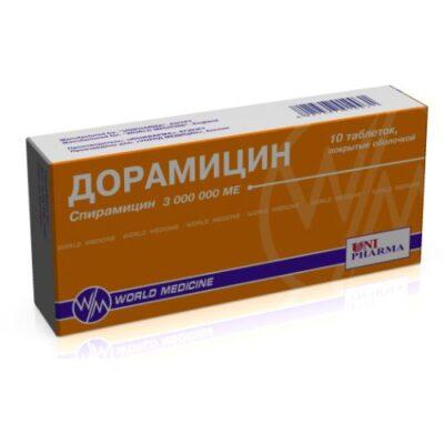 Doramycin 3000000 IU (10 coated tablets)
