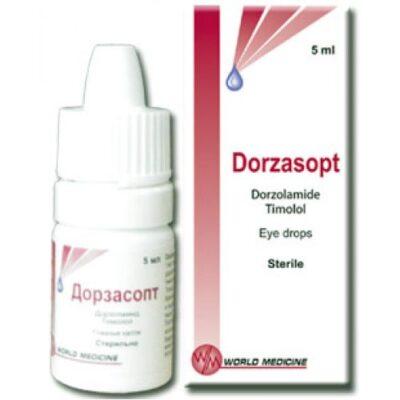 Dorzasopt 5 ml of eye drops