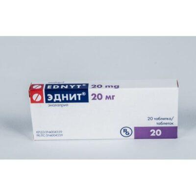 Ednit 20 mg (20 tablets)