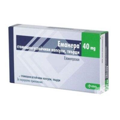 Emanera 40 mg capsules 14s
