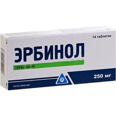 Erbinol 250 mg (14 tablets)