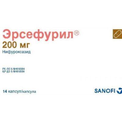 Ersefuril 14s 200 mg capsules