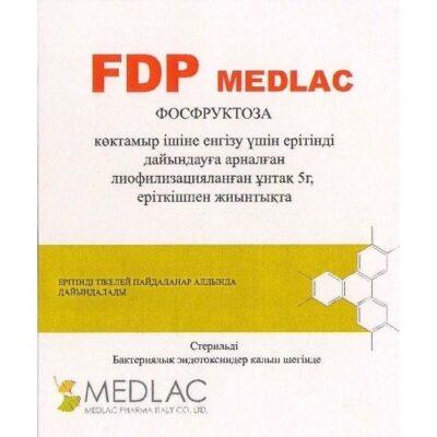 FDP Medlac liofil 5g of powder. for solution for intravenous inektsiis sol.