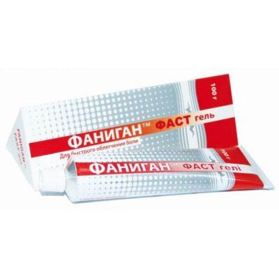 Fanigan ™ Fast external use 100g of gel.
