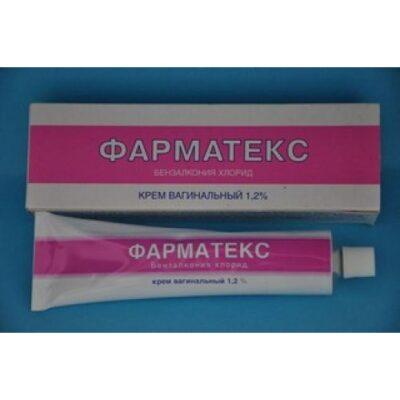 Farmateks 72g vaginal cream