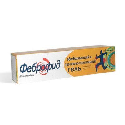 Febrofid 2.5g of 50% gel ext.