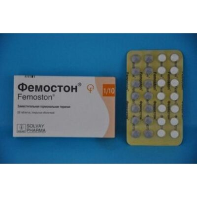 Femoston 1/10 28's mg film-coated tablets