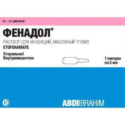 Fenadol 1g / 2 ml solution for injection