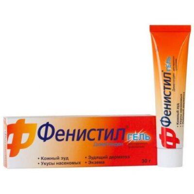 Fenistil 0.1% 30g gel tube