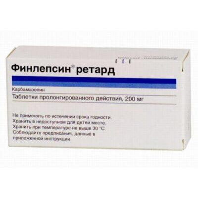 Finlepsinum 200 mg retard (50 tablets)