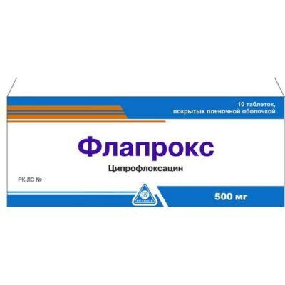 Flaproks 10s 500 mg film-coated tablets