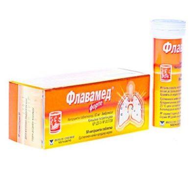 Flavamed® Forte 60 mg effervescent (10 tablets)