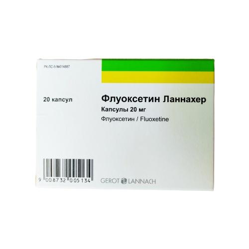 Fluoxetine 20 mg (20 capsules)