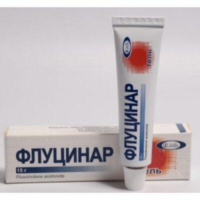 Flutsinar 0.025g of 15% gel in the tube