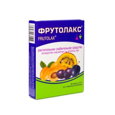 Frutolaks 0.5g (30 capsules)