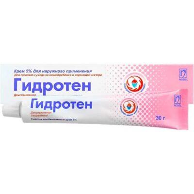 Gidroten 5% 30g ointment tube for external use