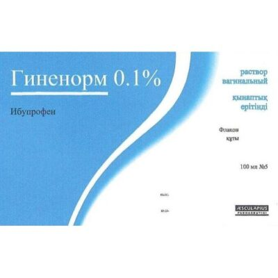Ginenorm 100 ml of 0.1% solution vaginal 5's