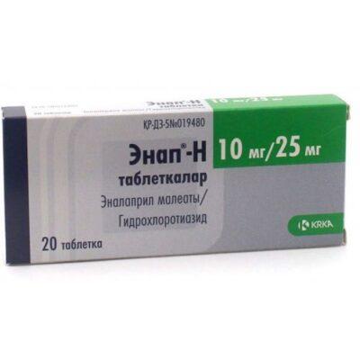 H enap 10 mg / 25 mg (20 tablets)