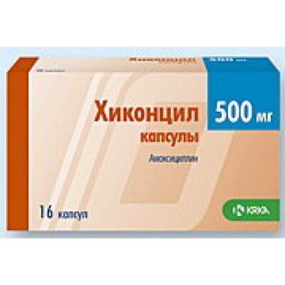 Hikontsil 16's 500 mg capsules