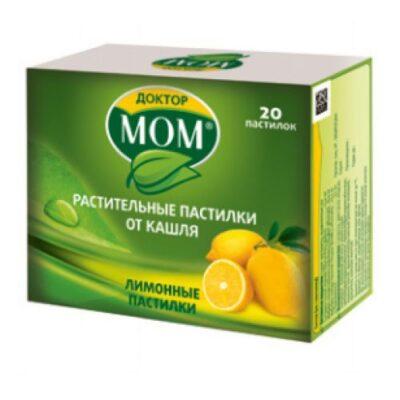 IOM doctor with lemon flavor pastilles 20s