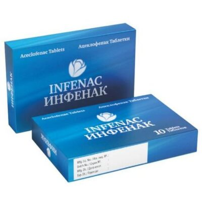 Infenak 10s 100 mg film-coated tablets