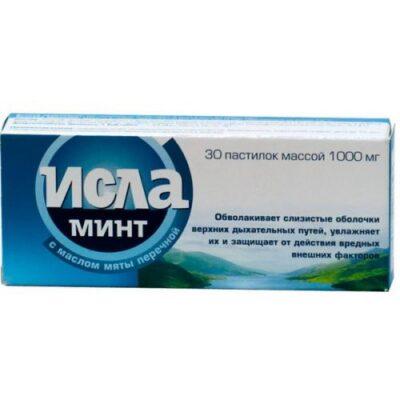 Isla Mint® 30s pastilles for sucking
