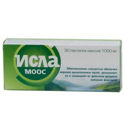Isla Moos® 30s pastilles for sucking