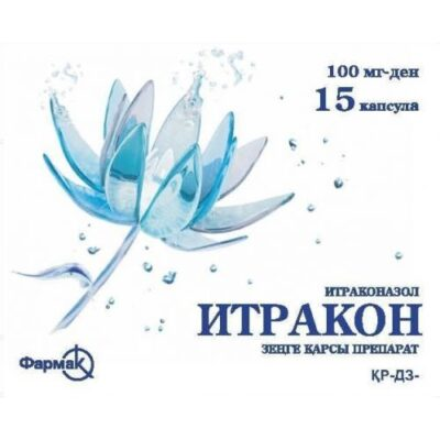 Itrakon 15's 100 mg capsule