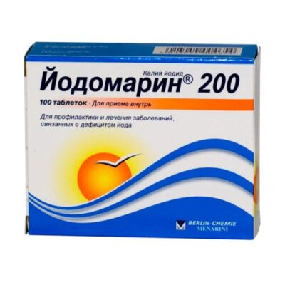 Jodomarin 200 mcg (100 tablets)