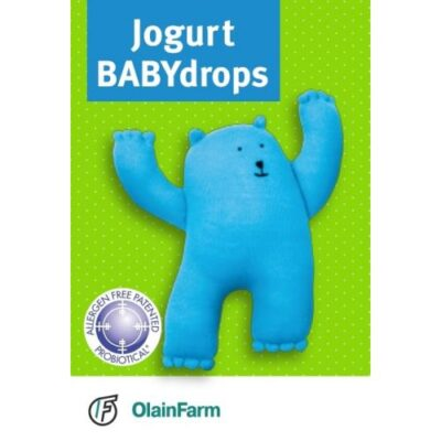 Jogurt Babydrops for infants and children of 10 ml drops in the vial with a pipette