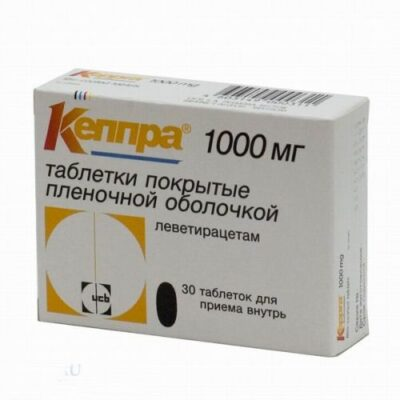 Keppra® 30s 1000 mg film-coated tablets
