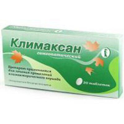 Klimaksan (20 tablets) (homeopathic)
