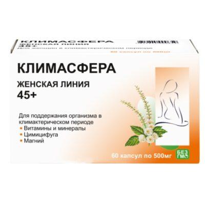 Klimasfera 60s 500 mg capsules