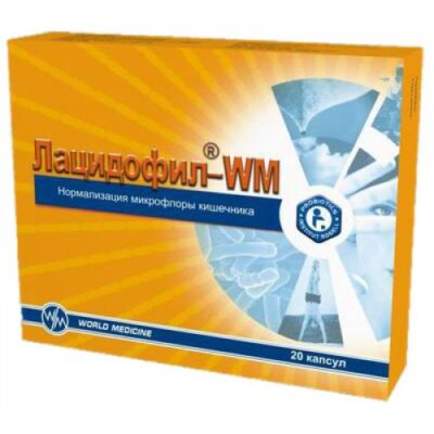 Latsidofil® WM (20 capsules)